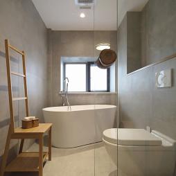 日式三居主卫瓷砖设计图片