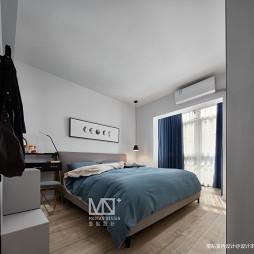 75平方北欧主卧室实景图片