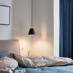 75平方北欧卧室吊灯设计图