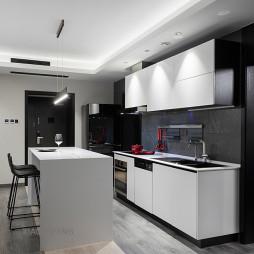 高品质现代厨房设计图