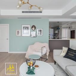 北欧小清新客厅沙发图