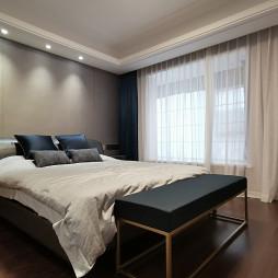 现代四居次卧室设计