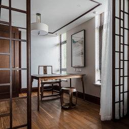 中式别墅书房吊灯图片
