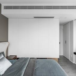 经典灰现代卧室衣柜设计