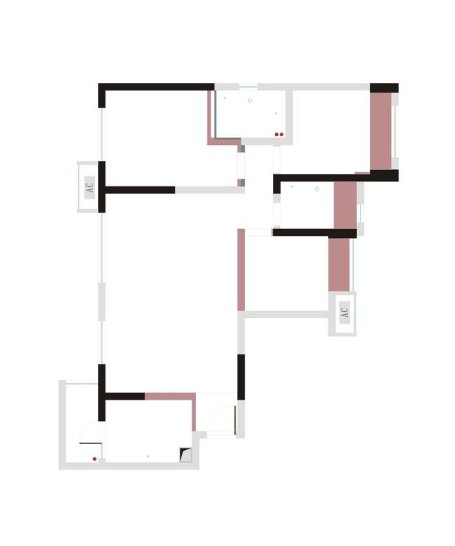 拿铁 黑白过渡的空间_3517083