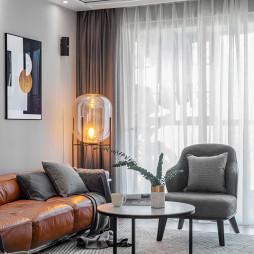静谧现代客厅落地灯图片