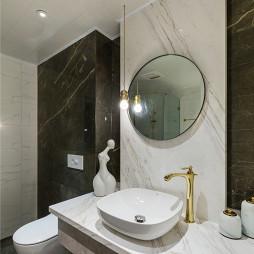 小资北欧卫浴洗手台设计