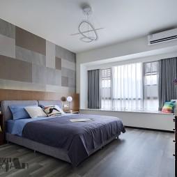 安逸现代风卧室设计图