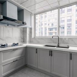 气质美式厨房设计图