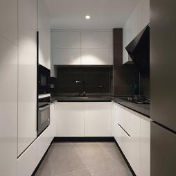 现代二居小户型厨房设计图