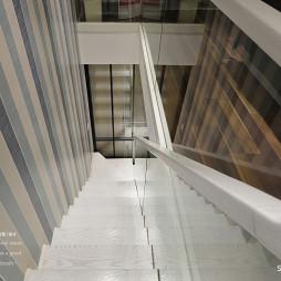 76平loft现代楼梯设计图