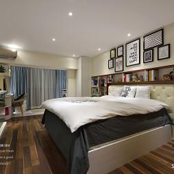 76平loft现代卧室设计图