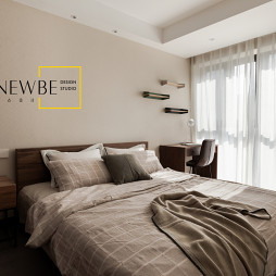 中式二居主卧室图片