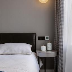 现代婚房次卧壁灯设计
