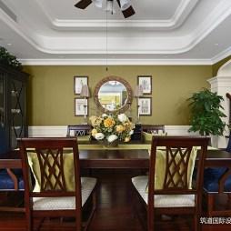 现代美式风格餐厅图片