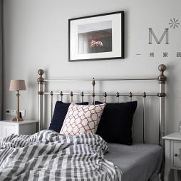 简洁美式复式卧室设计