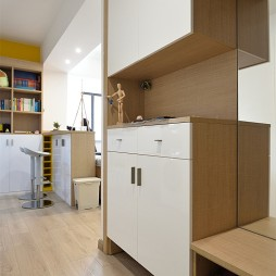 现代两居室玄关设计