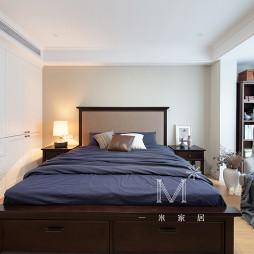 200㎡现代美式主卧室设计