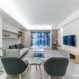 日式风三居客厅实景图片