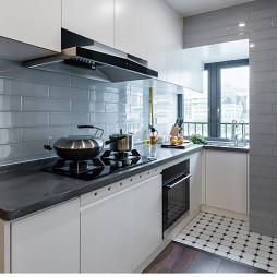 简约复式厨房设计图片