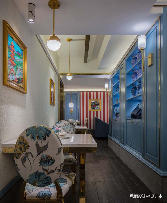炉湘私厨餐厅餐桌图片