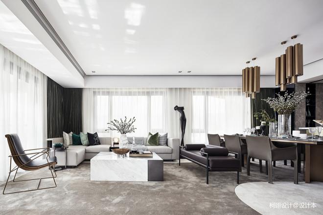 260平大平层诠释空间和生活、环境与