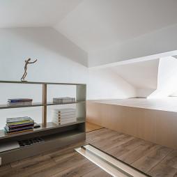北欧原木风阁楼设计图