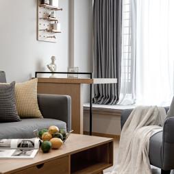 简致北欧三居客厅设计图片