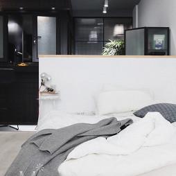 45㎡小户型现代卧室设计