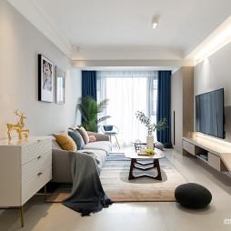 清馨混搭客厅设计