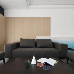 简洁现代别墅客厅沙发图