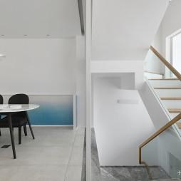 简洁现代别墅餐厅设计