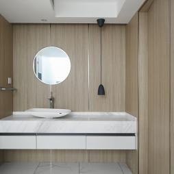 简洁现代别墅卫浴设计图