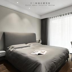 高档现代风主卧室设计图片