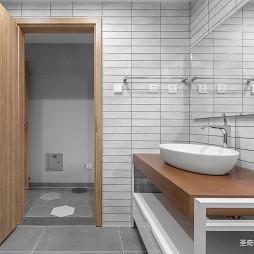 古朴中式卫浴设计图片