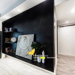 现代北欧电视背景墙设计