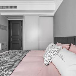 时髦精装现代卧室设计