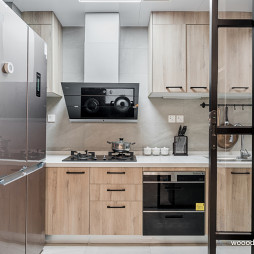 清新系现代厨房设计