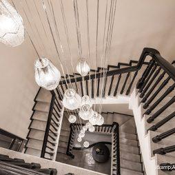 西安华海别墅楼梯设计图