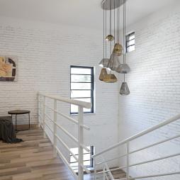 新民居复式客厅楼梯设计图