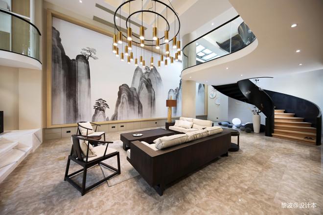 荆邑•溪隐府别墅地下室设计图