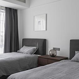 质朴现代风卧室设计图