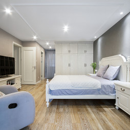 独墅苑美式主卧室设计