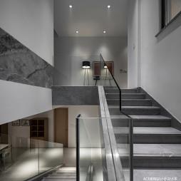 现代别墅楼梯实景图片