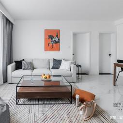 精简现代客厅沙发设计图片