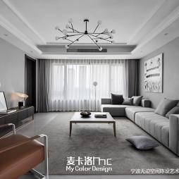 金地澜悦现代风客厅设计图片