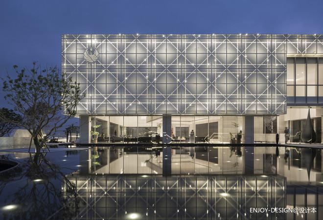阳江保利中央公馆售楼处:艺术,让想象