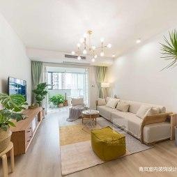 日式三居客厅实景