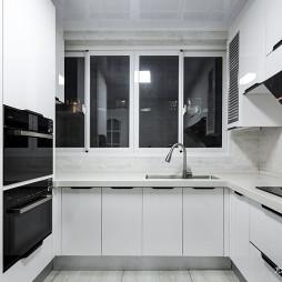 现代风复式厨房设计图