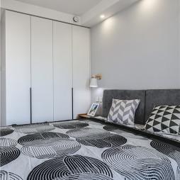 自由精致北欧风卧室衣柜设计